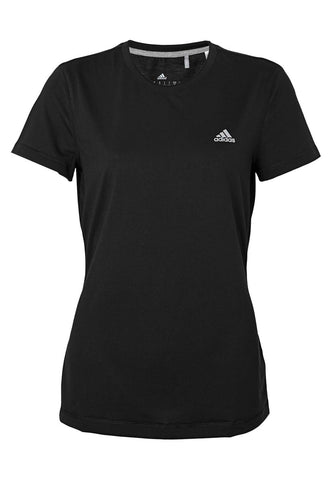 Adidas Women's Slim fit Black T Shirts SIZE S SMALL ladies