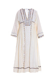 ISABEL MARANT Voile Clayne Embroid Silk Dress Size F 38 M Medium Ladies
