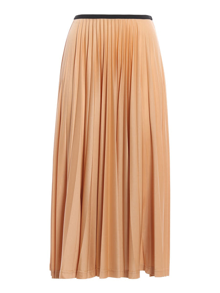 CÉLINE Celine Phoebe Philo Shimmering pleated SKIRT Ladies