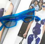 Céline Spring 2018 Runaway Blue CAT EYE SUNGLASSES EDGE CL41468/S Celine Ladies