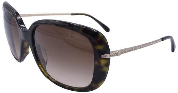 CHANEL Tortoise Bijou Limited 5292 B A C.714/s5 Swarovski Crystals Sunglasses ladies
