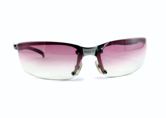 CHANEL 1994 4008 Pink Gradient Lens Frameless Sunglasses ladies