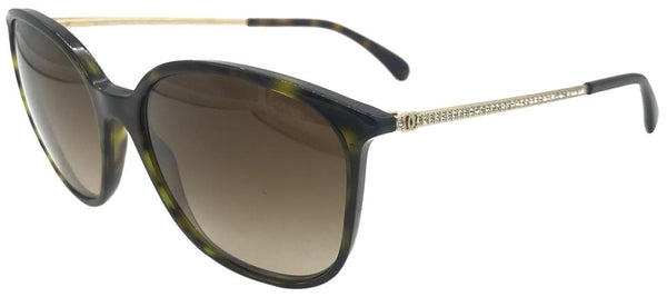 Chanel Tortoise 5291-b C.714/S5 Crystals Sunglasses ladies