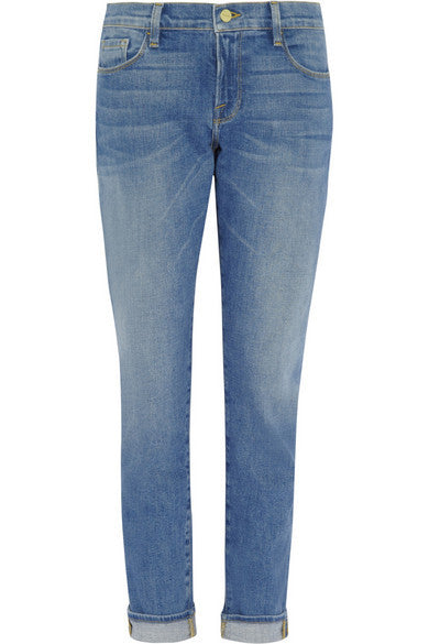 FRAME Le Garcon mid-rise slim boyfriend jeans pants trousers New Ladies