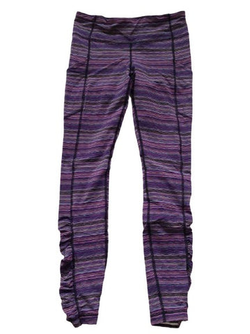Lululemon Striped Leggings size US 6 UK 10 ladies