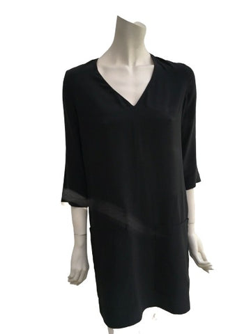 Chloé Chloe Black Shift Mini Phoebe Philo Dress Size F 34 US 2 UK 6 XS ladies