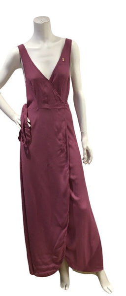 & Other Stories Los Angeles Pink Wrap Long Dress EU 38 UK 12 US 8 ladies