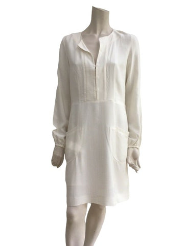 Chloé Chloe Ivory amazing silk dress Size F 36 US 4 UK 8 ladies