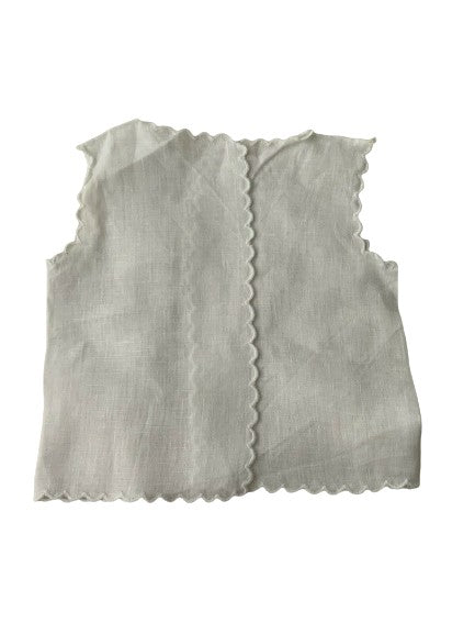 5 Pieces White Baby Children Vest Size 12-2 years children