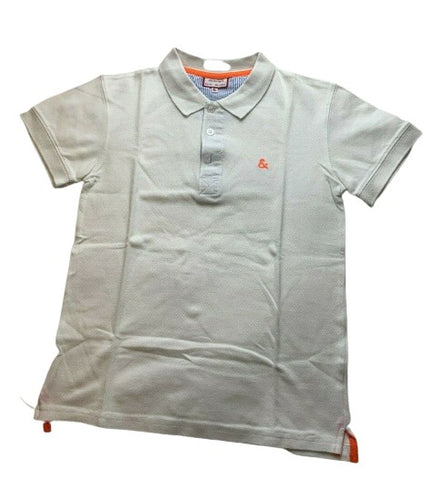 NECK & NECK KIDS White Polo Tshirt Top 10-11 years 130-140 cm Boys Children