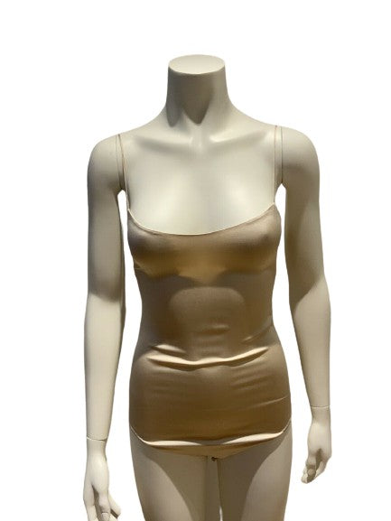 JASMINE DI MILO Silk-charmeuse camisole Top Body Size XS ladies