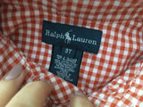 RALPH LAUREN BOYS' PLAID BUTTON-UP SHIRT 3 Years old Children