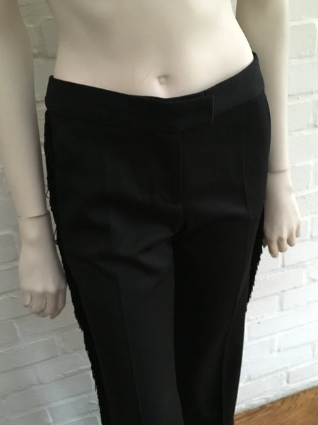 Stella McCartney Runaway Mid Rise Wool Pants Trousers Size I 36 UK 4 US 0 2 Ladies