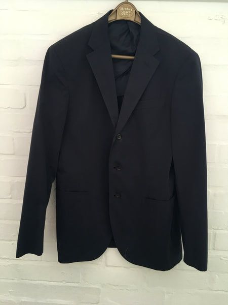 Ralph Lauren Polo Navy Men's Suit Jacket Blazer 40R Jacket men