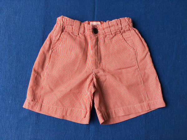 NECK & NECK KIDS Red & White Striped Shorts Size 4 years 92-106 cm Boys Children