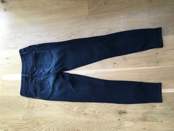 PAIGE Hoxton Ultra Skinny Ankle Jeans Denim Pants Size 25 Ladies