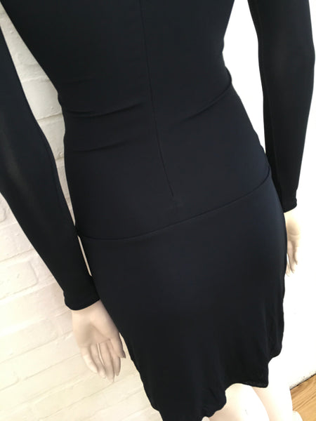 Julien Macdonald Runaway Bodycon LBD Little Black Dress LADIES