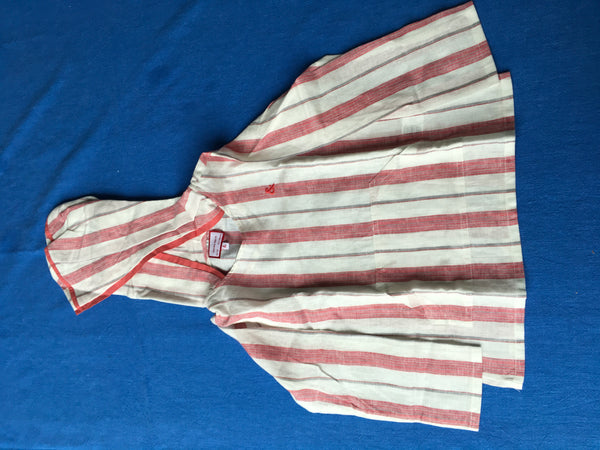 NECK & NECK KIDS Boys brick red striped djellaba linen 8-9 years 4-5 years Children