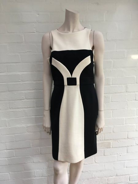 JASMINE DI MILO RUNAWAY COUTURE WOOL SHIFT DRESS Ladies
