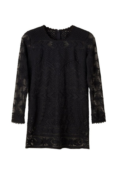 Isabel Marant H&M Black Lace Top Blouse US 8 EU 38 NEW WITH TAGS Ladies