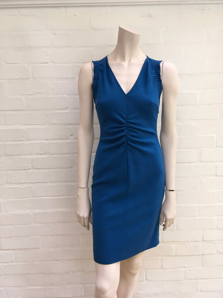 Emilio Pucci MOST WANTED Blue Wool Shift Dress Ladies