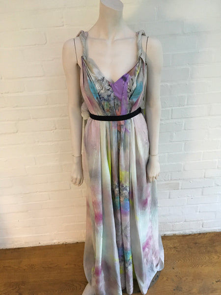 Matthew Williamson Runaway Printed parachute-silk maxi dress gown Ladies