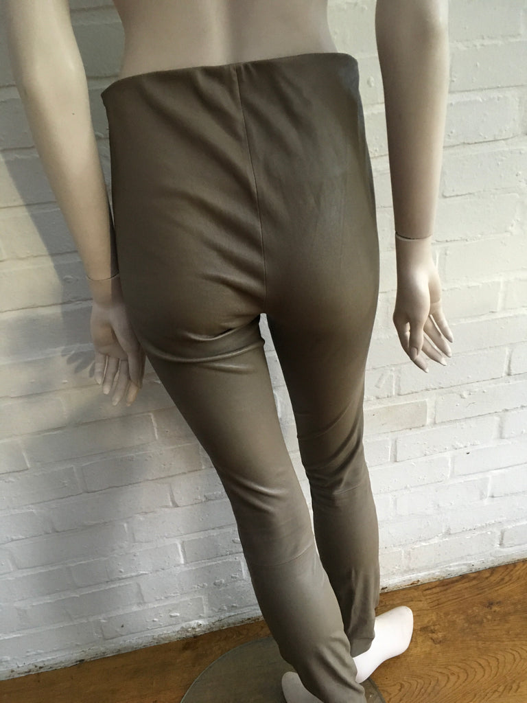 5355f7b546aa00 ... By Malene Birger 'Elenaso' Skinny Leather Leggings Pants Trousers Ladies  ...