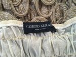 Giorgio Armani Ruffled Off-The-Shoulder Top Ladies