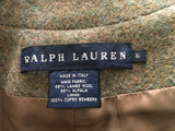 RALPH LAUREN Womens Wool Alpaca Fitted Blazer Jacket LADIES