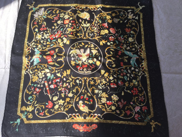Hermès 'Pierres d'Orient et d'Occident'  Silk Scarf Ladies
