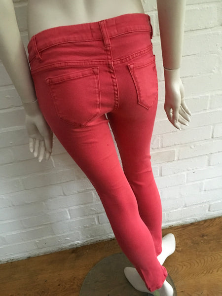 IVY COPENHAGEN Taylor Women's Stretch Red Pants Trousers Ladies