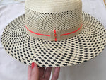 YOSUZI Aleza straw hat crafted by artisans in Ecuador from Toquilla straw  Ladies