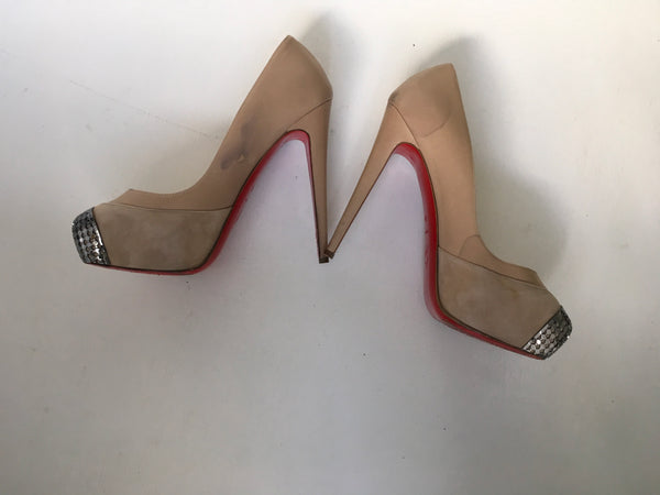 Christian Louboutin Maggie Platform 140 Pumps Shoes  Ladies