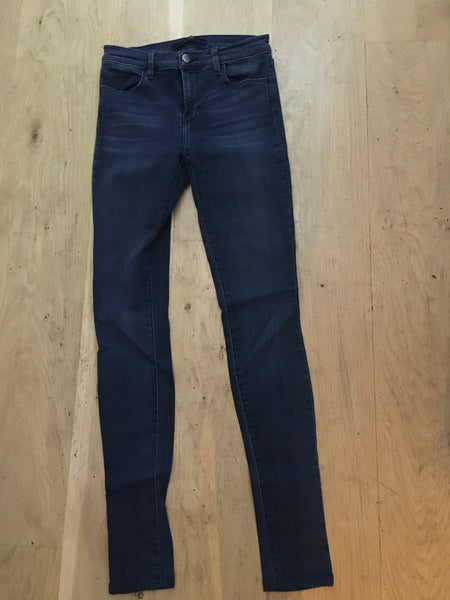 J Brand Skinny Stuck Surrounder Jeans Denim Size 27 Ladies