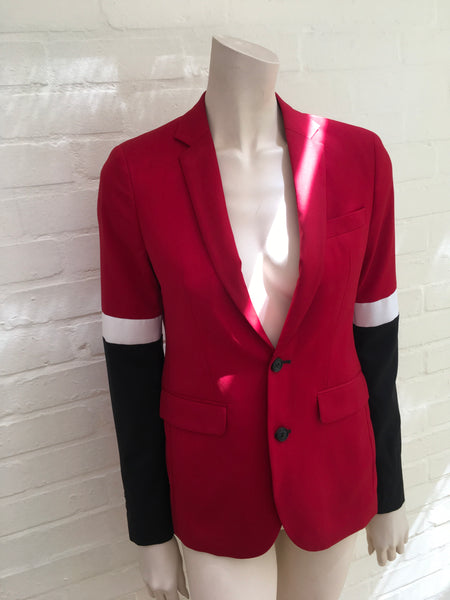Each X Other Jeremy Kost Womens Wool Blazer Jacket Ladies