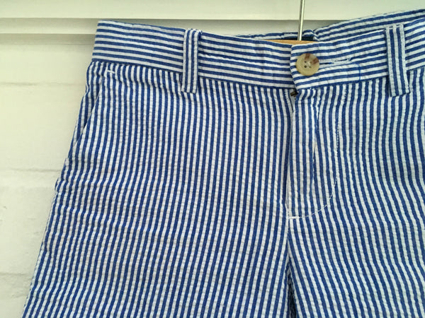 RALPH LAUREN POLO KIDS BOYS' FOUR-POCKET PINSTRIPE SHORTS 5 YEARS OLD Children
