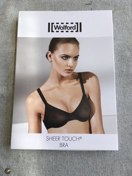 Wolford Sheer Touch Underwire Bra ROSEPOWDER 69615 Size 80D 36D Ladies