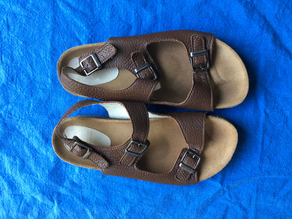 il gufo KIDS Boys Children Boys' Calfskin Leather Sandals Size 27 & 36 Children