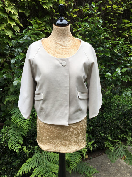 CHLOÉ CROPPED JACKET SIZE F 36 XS LADIES