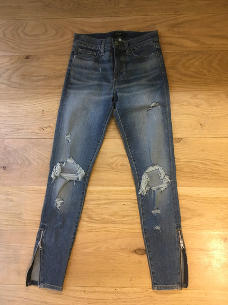 AMIRI Women's Glitter Thrasher Jeans Denim Jeans Size 26 UK 8 FR 38 I 40 Ladies