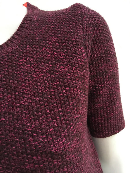 MAJE Jackson Wool-Blend KNIT TOP JUMPER SWEATER  Ladies
