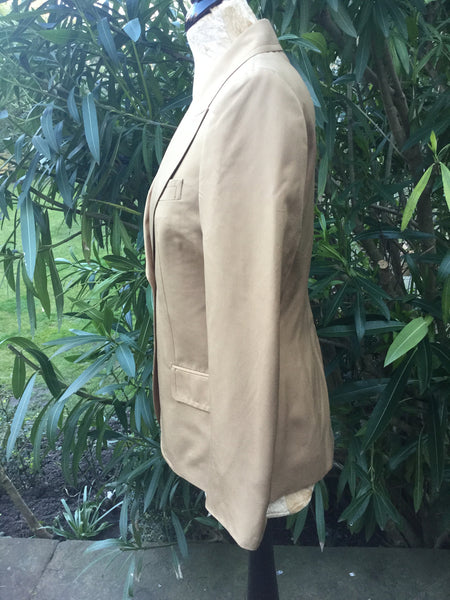 GUCCI SILK BLAZER JACKET COAT I 44 L LARGE LADIES