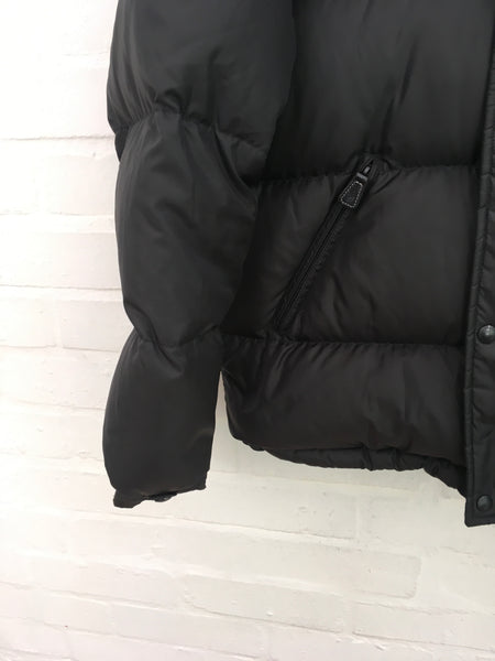 RALPH LAUREN POLO QUILTED PUFFER DOWN JACKET IN BLACK Size M MEDIUM Men