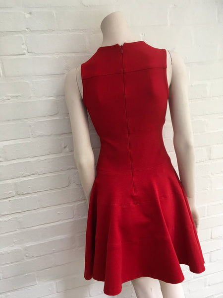 JOSEPH In Red Amazing Colonel heavy-jersey dress Size S SMALL Ladies
