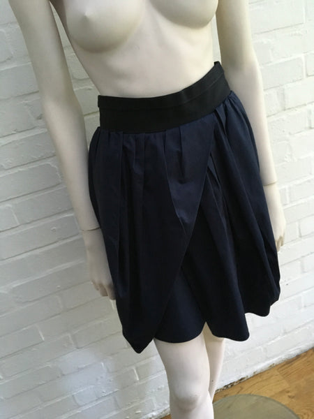 CARVEN WRAP-AROUND FLARED SKIRT Ladies