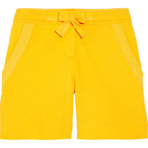 STELLA MCCARTNEY For ADIDAS Yellow 100% Cotton Casual Long Shorts XS Ladies
