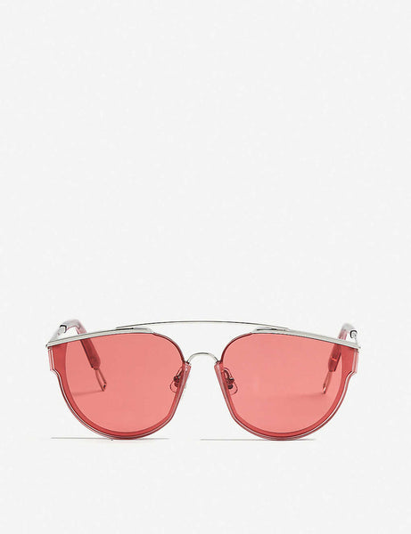 Gentle Monster Loe tinted D-frame sunglasses ladies