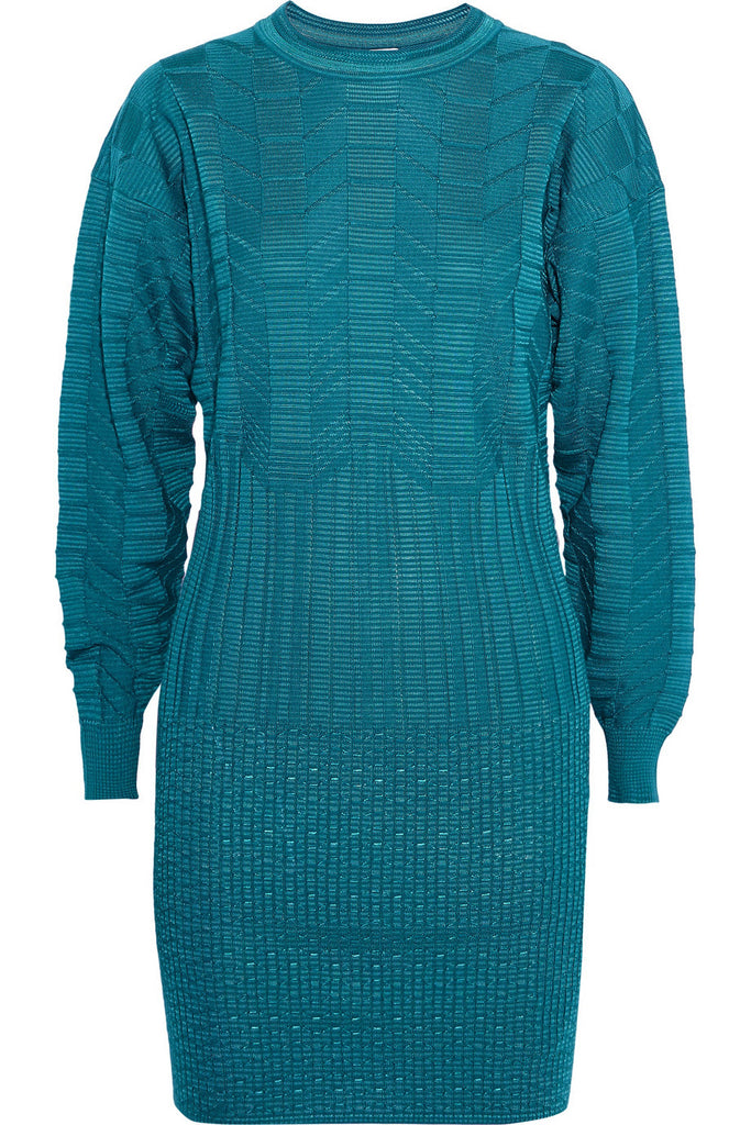 Missoni M Jacquard Knit Wool Blend Dress Size S Small Ladies