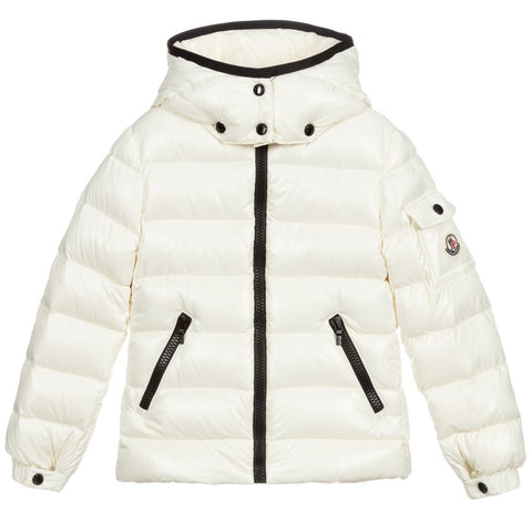 MONCLER Ivory Down Puffer Jacket 6 years 115 cm Children children