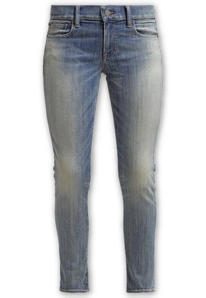 Ralph Lauren Tompkins Jordan Wash Skinny Fit Jeans Denim Pants Ladies